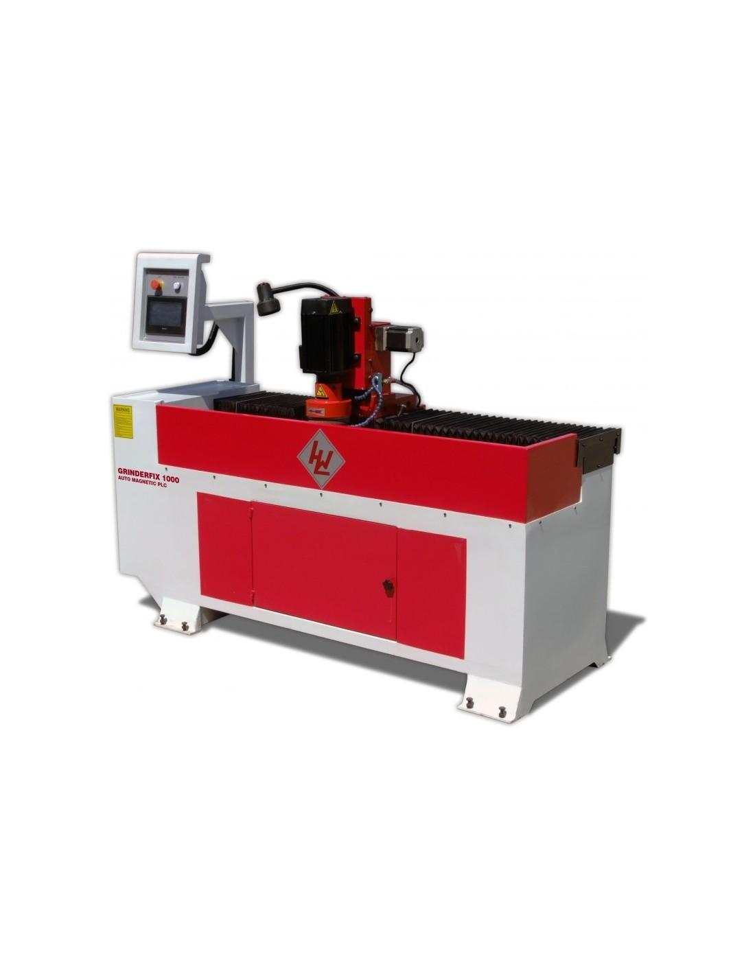 Masina pentru ascutit cutite de abric Winter Grinderfix 1000 Auto Magnetic PLC