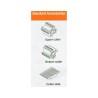 Masina pentru frezat dibluri Winter CF-100A2 - accesorii standard