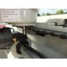 Aceasta masina de frezat poate prelucra piese cu lungimi de pana la 1500 mm