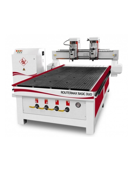 Router CNC Winter RouterMax - Basic 1325-2 Simultane Deluxe