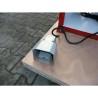 Actionarea masinii se realizeaza cu ajutorul unei pedale de actionare