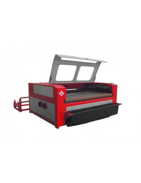 Masina de taiat piele si materiale textile cu laser CO2 Winter LaserMax Maxi 1610 - 80 W Double-Head