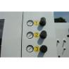Presiunea rolelor de avans este afisata cu ajutorul unor manometre si poate fi ajustata