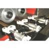 Rolele de avans sunt actionate motorizat iar presiunea acestora este ajustata pneumatic individual