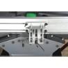 Limitatorul paralel din aluminiu poate fi inclinat pana la 45° cu ajutorul unei scale