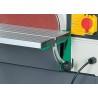 Masa de lucru confectionata din aluminiu poate fi inclinata intre 0° si 45°