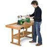Acest strung de lemn poate fi utilizat prin pozitionarea pe un banc de lucru