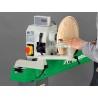 Capul de actionare poate fi rotit pana la 360° pentru prelucrarea pieselor cu diametru mare
