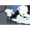 Capul taietor este rotativ de la -45° pana la +45° permitand realizarea unei arii mari de aplicatii