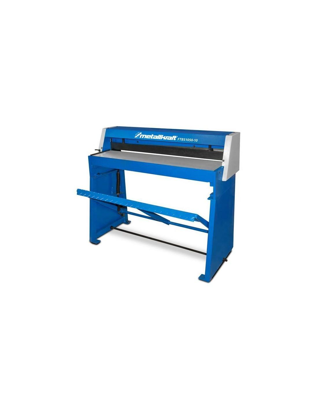Foarfeca de tabla cu pedala de actionare Metallkraft FTBS 1050-10