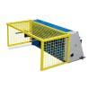 Este dotata cu grilaj de protectie rabatabil pentru ecartamentul spate