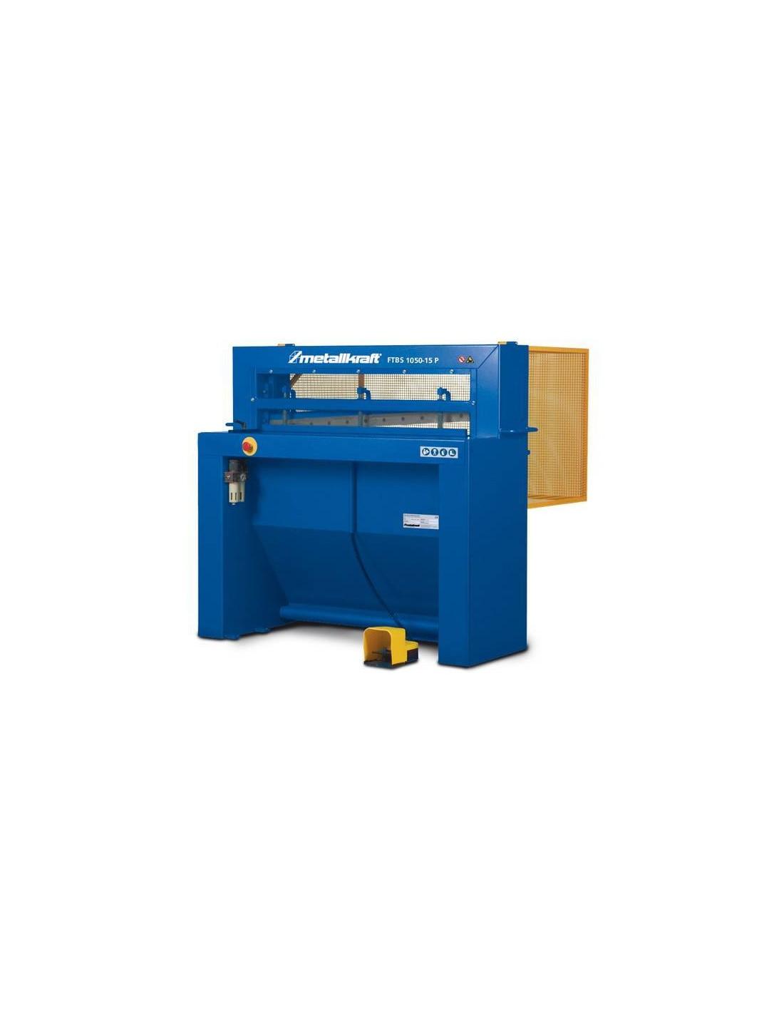 Ghilotina pentru tabla cu actionare pneumatica Metallkraft FTBS 1300-15P