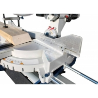 Este prevazut cu sistem cu sine laterale de ghidaj pentru prelucrarea pieselor lungi