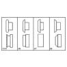 Masina de ziguit SBM 140-12 este livrata standard cu 4 seturi de role