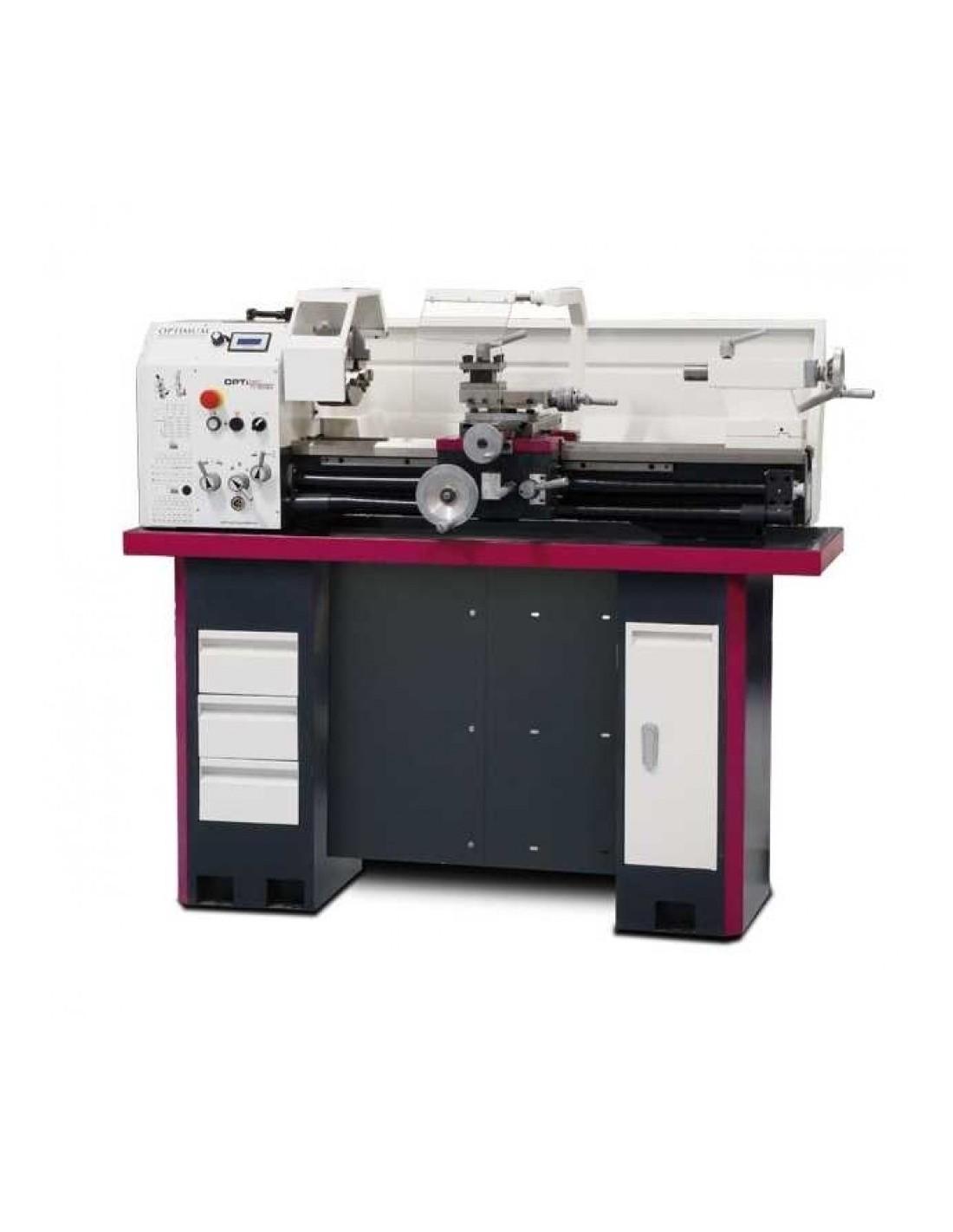 Strung de precizie Optimum TU 3008 V cu stand optional