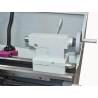 Pinola cu sistem de fixare cu excentric culiseaza pe batiul calit prin inductie si rectificat cu precizie