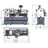 Strung universal Optimum D 420 x 1000 DPA - dimensiuni de gabarit