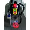 Viteza de taiere poate fi ajustata cu ajutorul unui buton