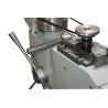 Este prevazuta cu sistem de prindere rapida a curelei de transmisie prin excentric