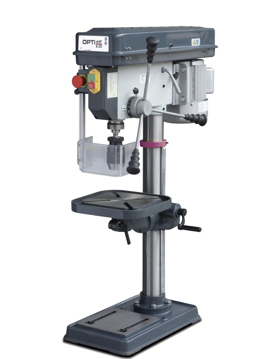 Masina de gaurit de banc Optimum B 20 - 400 V