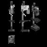 Masina de gaurit cu angrenaj si coloana Optimum DH 28GS - dimensiuni de gabarit