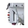 Este dotata cu avans automat electromagnetic al pinolei