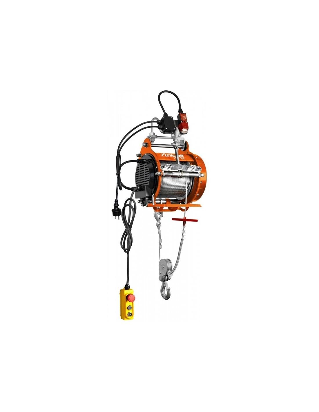 Troliu electric cu cablu Unicraft ESW 500