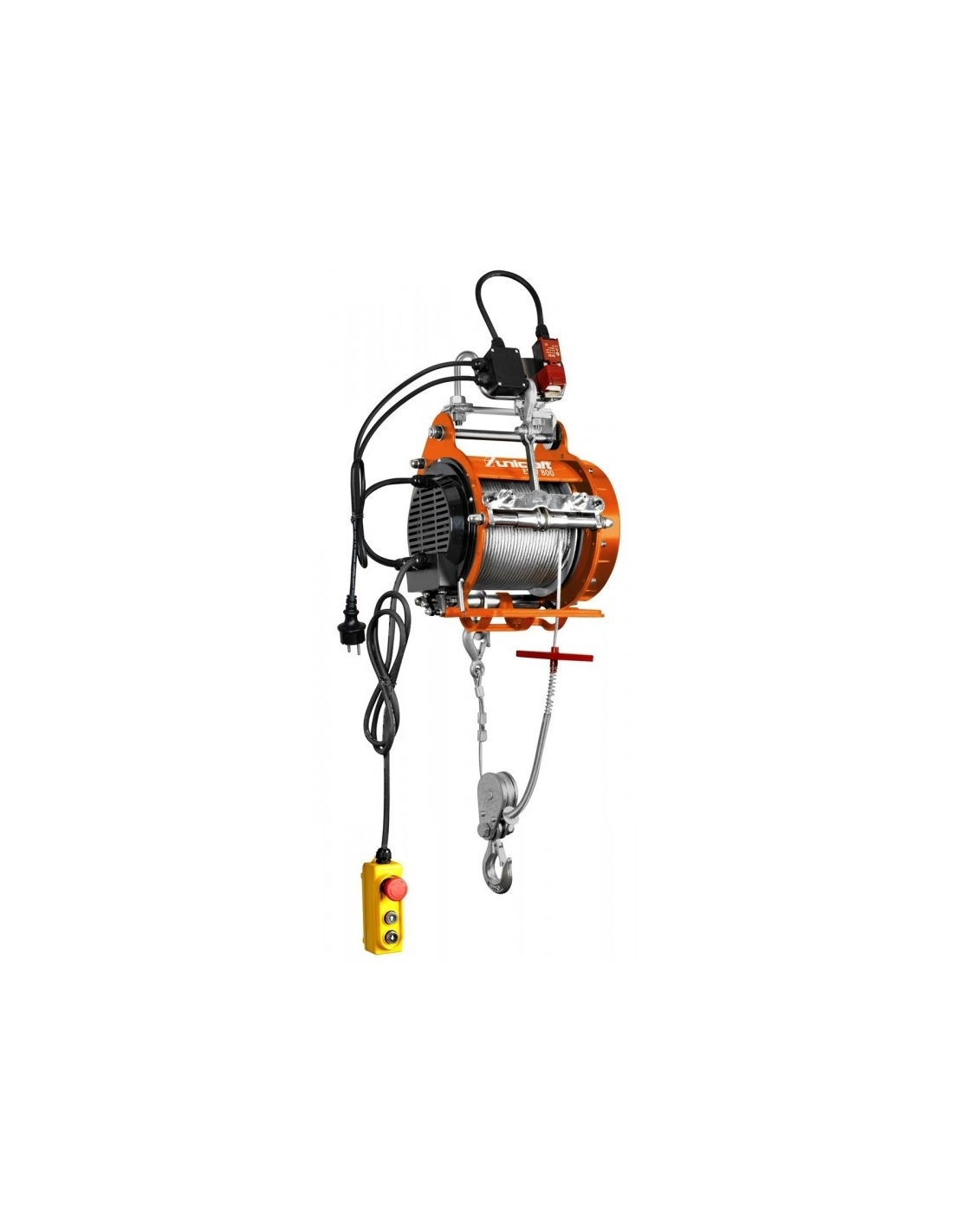 Troliu electric cu cablu Unicraft ESW 800