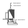 Cric manual hidraulic Unicraft MH 20 - capacitate de ridicare