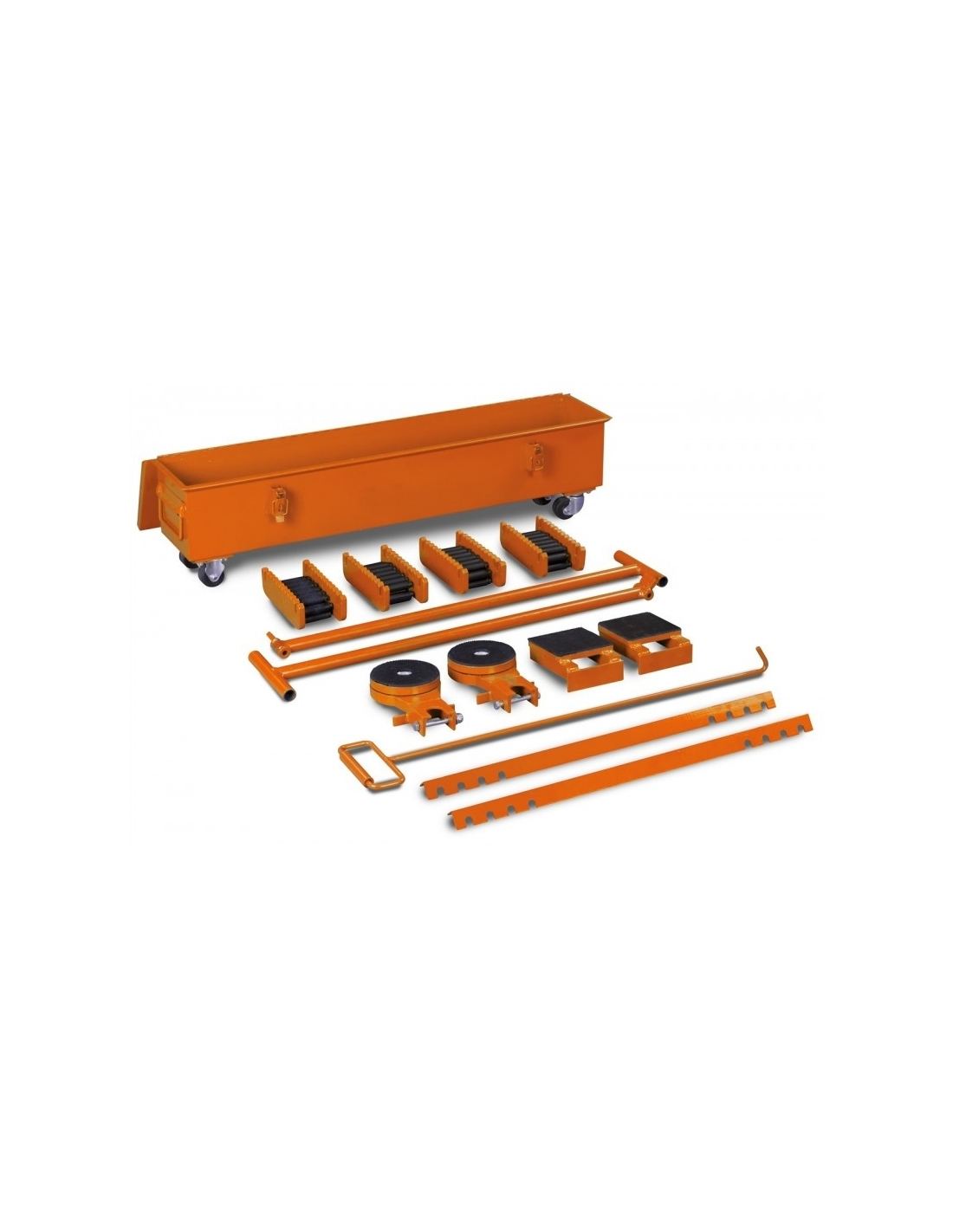 Set de sasiuri de incarcare si transport pentru greutati mari Unicraft TR 20