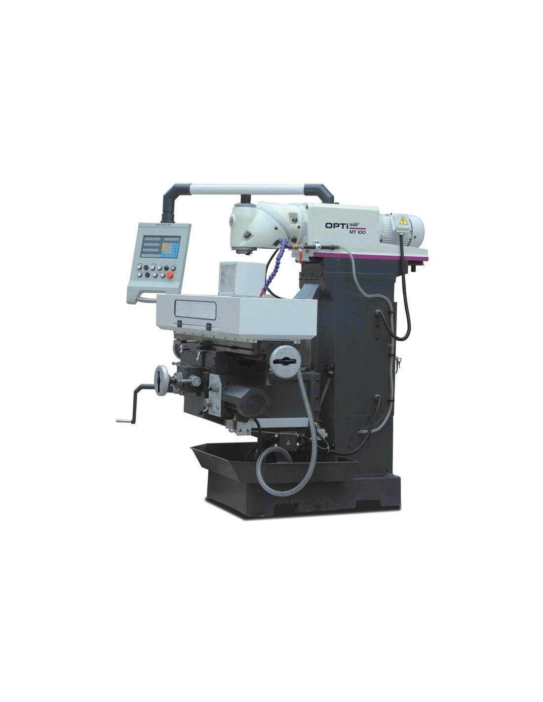 Masina de frezat universala Optimum MT 100