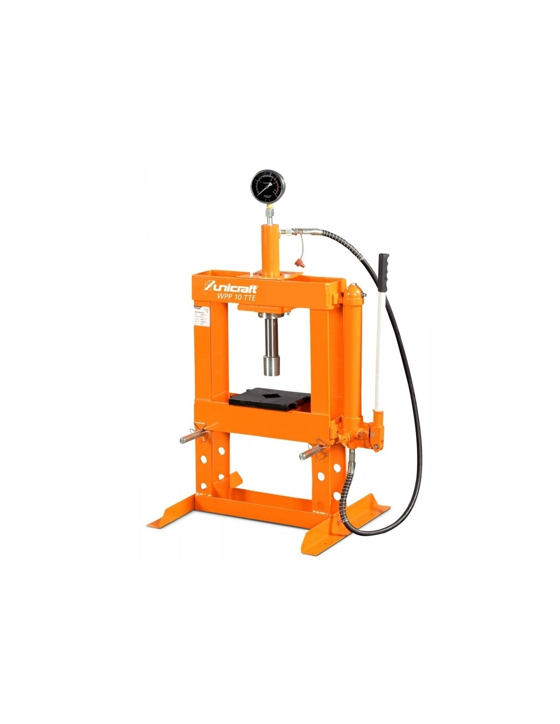 Presa hidraulica de atelier Unicraft WPP 10 TE