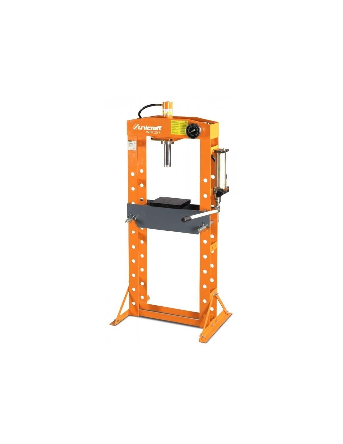 Presa hidraulica de atelier Unicraft WPP 20 E