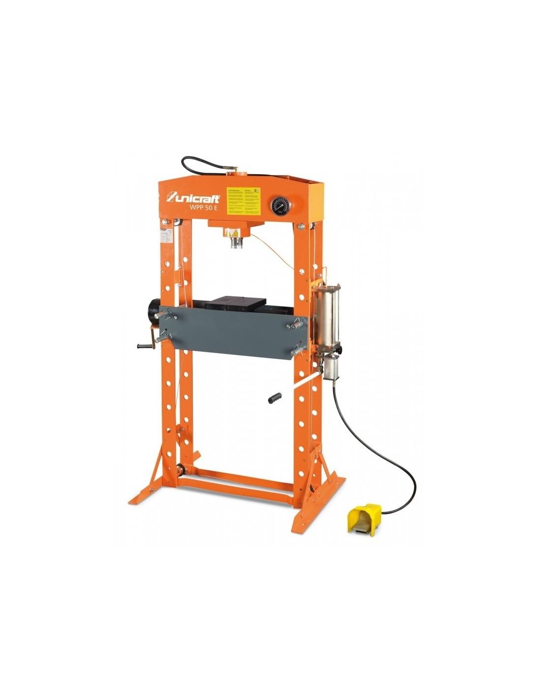 Presa hidraulica de atelier Unicraft WPP 50 E