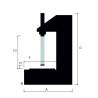 Presa hidraulica de atelier Unicraft WPP 10 HTE - dimensiuni