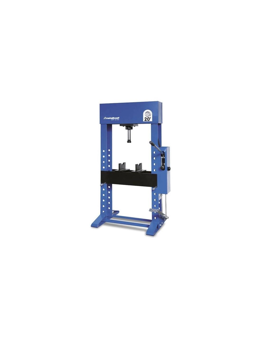 Presa hidraulica de atelier Metallkraft WPP 30 BK