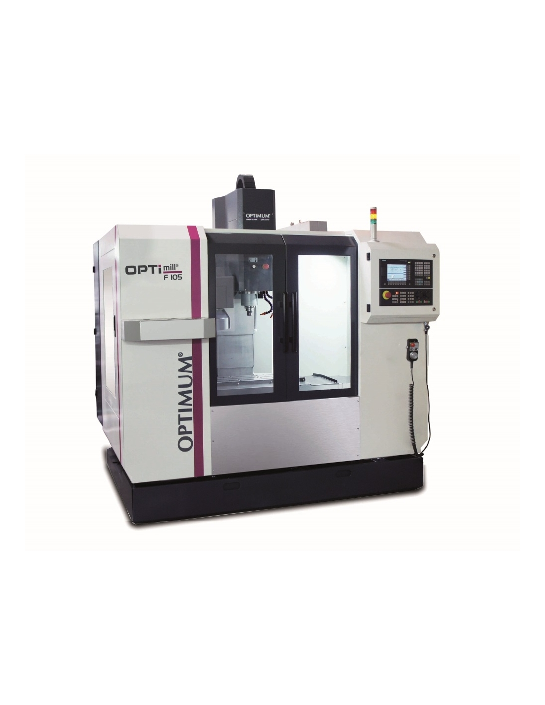 Masina de frezat CNC Optimum F 105/808D Advanced