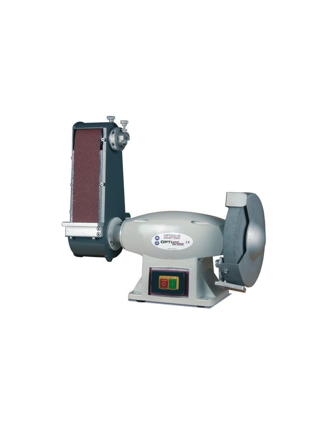 Masina pentru slefuit combinata Optimum SM 200 SL - 400 V