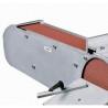 Permite posiblitatea de slefuire a suprafetelor mari cu ajutorul limitatorului pentru material