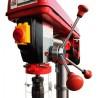 Este echipata cu limitator pentru ajustarea adancimii de gaurire cu scala de precizie