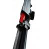 Ghidajul panzei prevazut cu rulmenti poate fi ajustat la latimea piesei de prelucrat