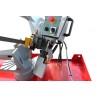 Coborarea bratului este controlata cu ajutorul unui cilindru hidraulic cu supapa