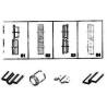 Masina de zencuit manuala Holzmann SKM 250PRO este livrata standard cu 4 seturi de role
