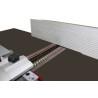Paralela din aluminiu poate fi ajustata rapid in functie de necesitatile de prelucrare