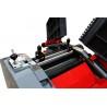 Ajustarea cutitelor poate fi realizata cu ajutorul unui dispozitiv de calibrat optional