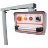 Elementele de control sunt pozitionate ergonomic pe panoul de comanda