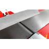 Blocul taietor de precizie este echipat cu 4 cutite calitate HSS