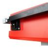 Protectia blocului taietor poate fi ajustata simplu si rapid