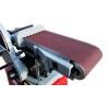 MAsa de slefuit este prevazuta cu strat acoperitor de grafit care prelungeste durata de utilizare a benzii abrazive