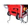 Este echipat cu sistem de roti pentru deplasarea facila